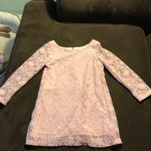 Lace toddler dress